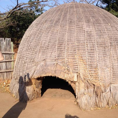 Swaziland culture - traditional hut
